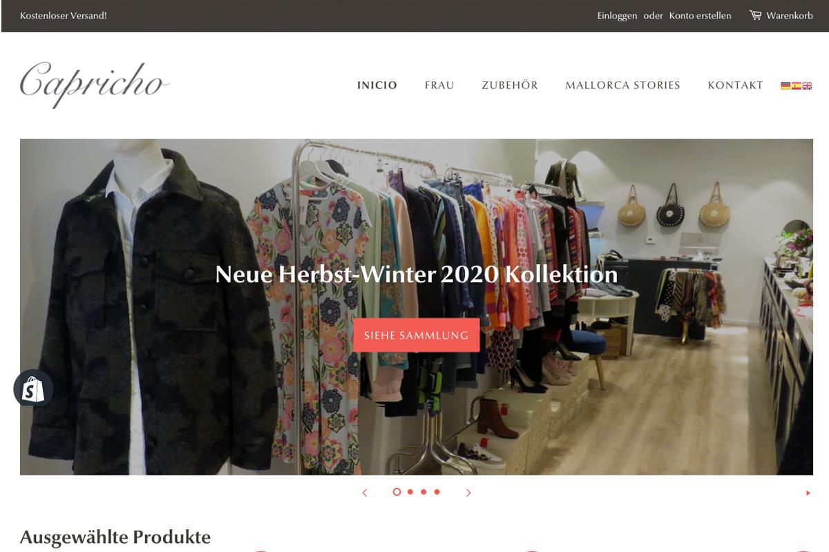 Desarrollo tiendas con Shopify